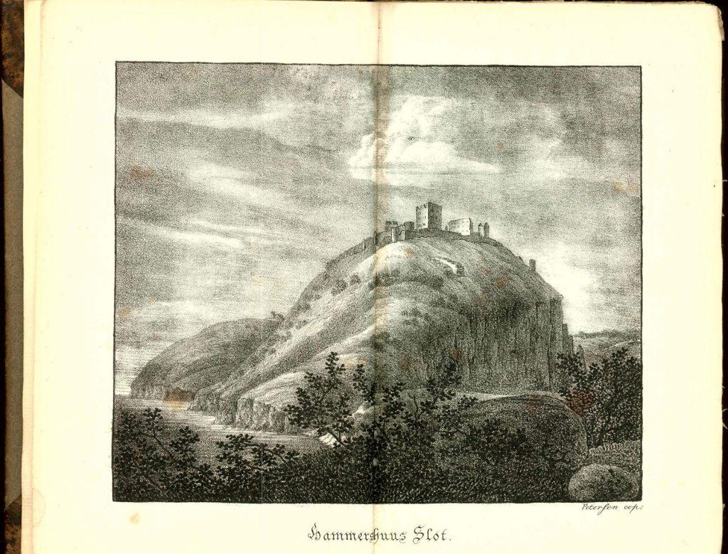1815 Rejsen til Bornholm Hammershusstik