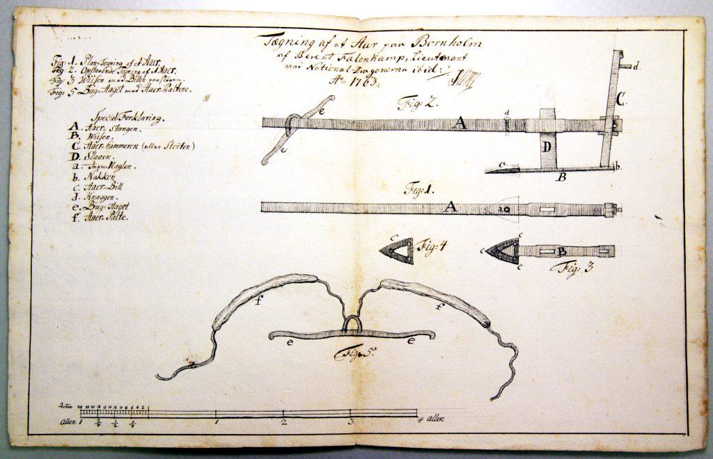 1763 Tegning af en Aar