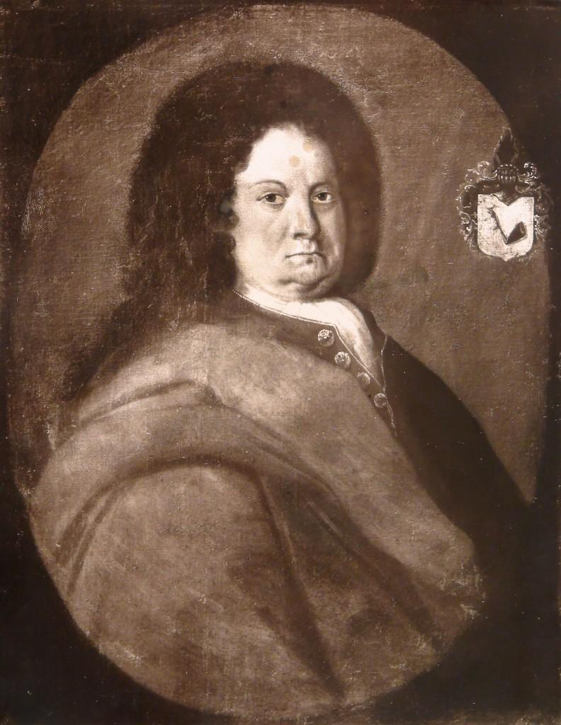 Amtmand Urne. Foto af maleri i Zahrtmanns arkiv i Ø-arkivet