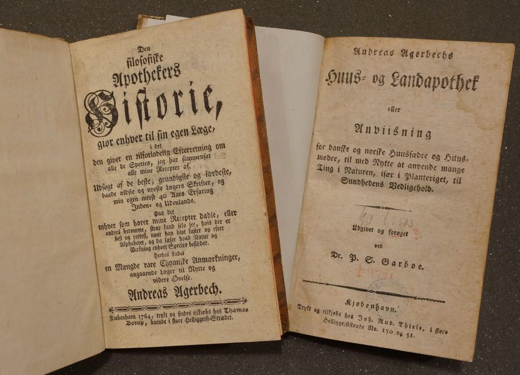 Den afskedigede præst Anders Agerbech skrev flere bøger om naturmedicin.