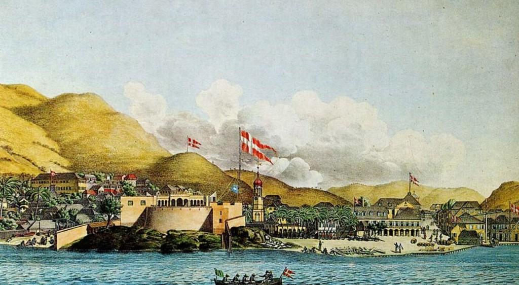 Fortet i Christiansted Sankt Croix