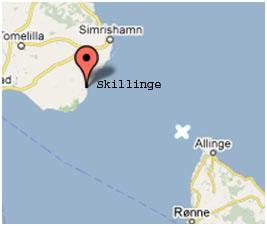 Skånske fiskere invaderede en af Bornholms bedste fiskepladser.